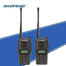 2 pçs baofeng T 57 intercomunicador marinho ip67 à prova dip67 água walkie talkie presunto transceptor de rádio em dois sentidos portátil UV 9R caça woki toki