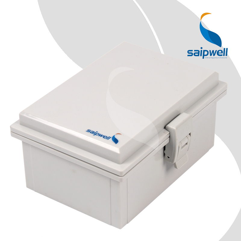 125 175 85mm ABS Waterproof Connection Box with Plastic Draw Latches Hinge Type Enclosure SP MG