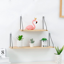 New Nordic Style 1PC Metal Wall Shelf Decor Kids Room Organizer Storage Holders