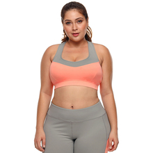 Breathable Plus Size Fitness Bra for Women