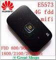 Desbloqueado huawei e5573 4g e5573s-320 dongle lte wifi router 150 mbps punto de Acceso móvil Inalámbrico 4G LTE fdd band pk e589 e5776 e5377