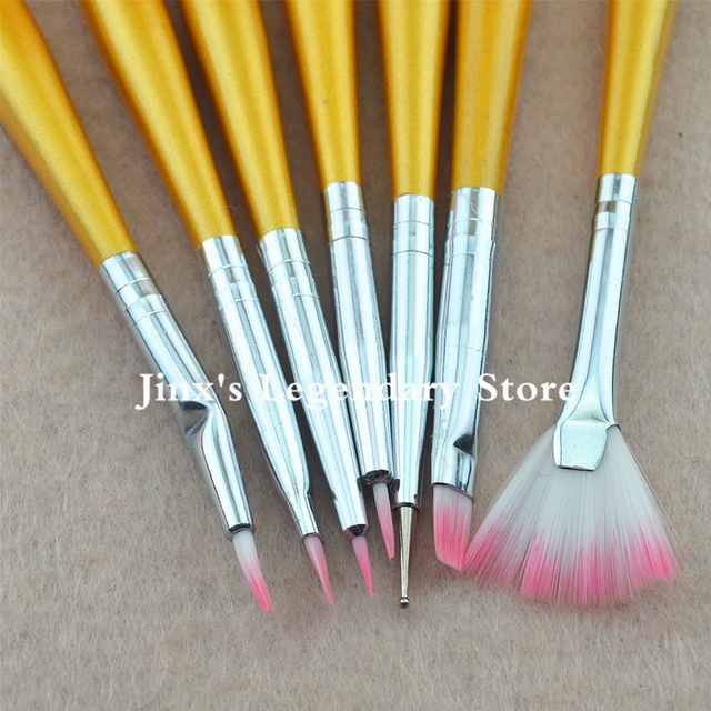 2018 New Nail Art Brush Set Diy Professional Nail Art Design