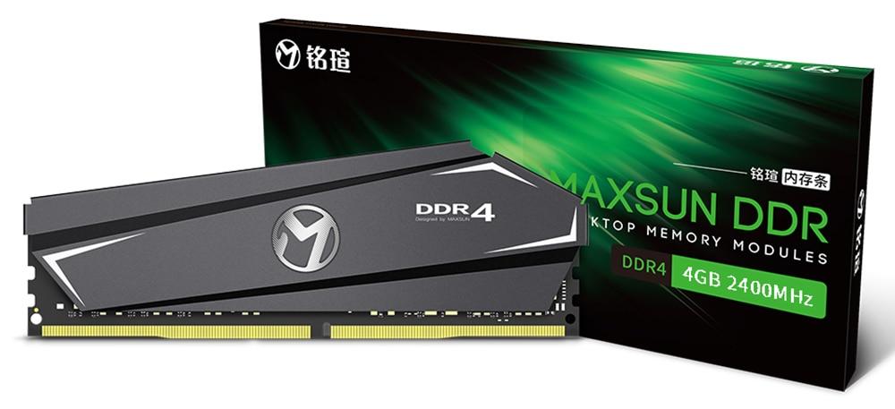 MAXSUN ram ddr4 8GB/16GB Desktop RAMs 4gb Memory 2400MHz memory voltage 1.2V Lifetime Warranty 288pin Flash Single effective RAM 34