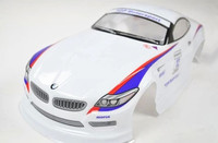 190mm PVC Painted Shell Body For 1 10 1 10 RC Car Item No 42 White