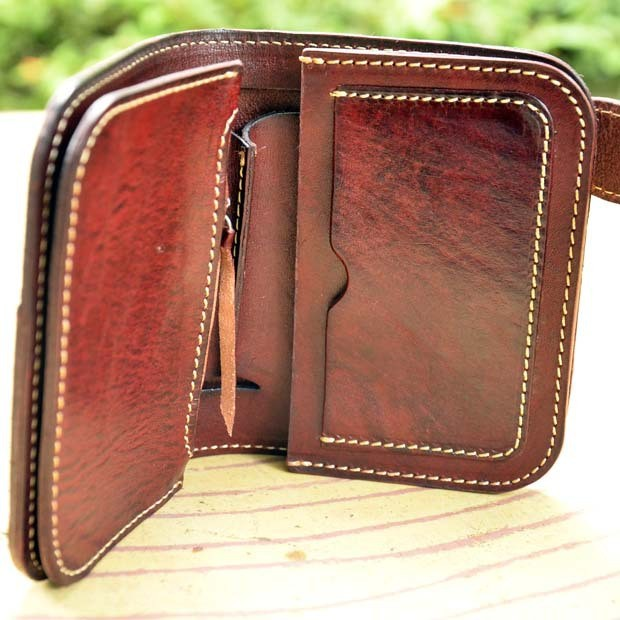 Genuine leather wallet 7