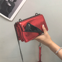 2018 Women Solid Leather Shoulder Bags For Girls Bolsas Feminina Female Mini Crossbody Chains Bags Ladies