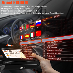 Image 3 - ANCEL FX6000 OBD2 Car Diagnostic Tool ABS DPF Oil Rest Key TPMS Battery Tester Air ACC All Systems OBD2 Scanner Update for Free