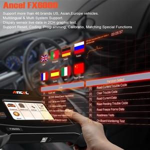 Image 3 - ANCEL FX6000 OBD2 outil de Diagnostic de voiture, Scanner, mise à jour gratuite pour tous les systèmes, ABS DPF, repos dhuile, clé TPMS, batterie, Air ACC