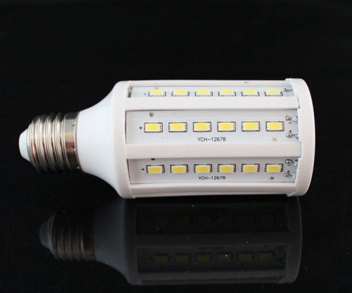 6pcs/lot E27 E14 5730 SMD LED Lamp, 4W 5W 7W 11w 15w 25w 30W LED Corn Bulb E27 12V Corn bulb light free shipping