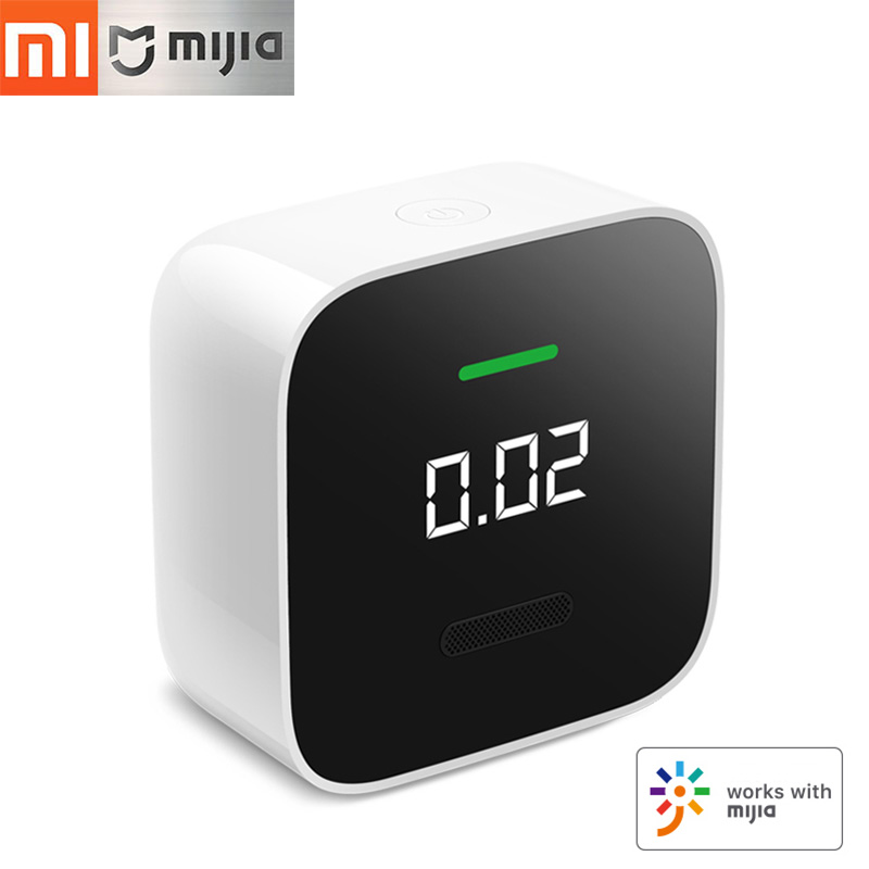 Xiaomi Mijia Formaldehyde Monitor Home Safe Gas Detector Air Quality Tester OLED Gas Analyzer Bluetooth Mijia
