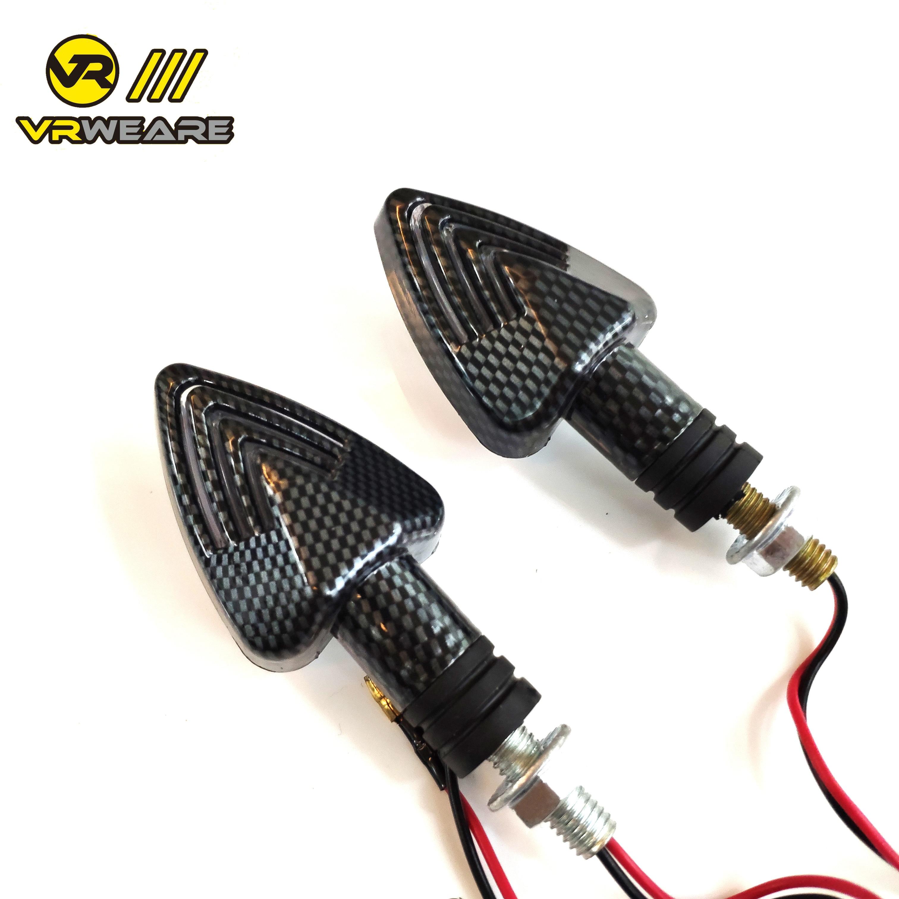 Turn Light Motorcycle Signal Light Decorative Lamp Indicator Flasher  Brake Lamp Lighting Amber Light LED Flicker Bendable