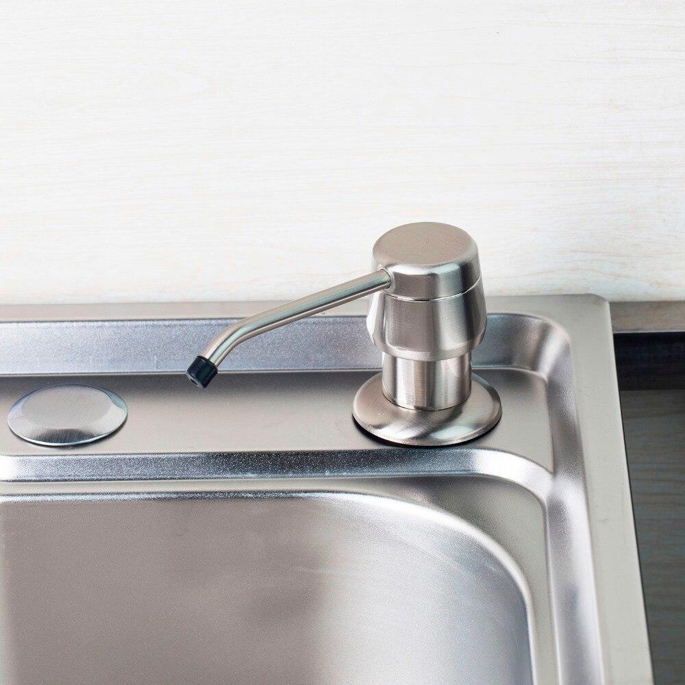 E Pak Stainless Steel Kitchen Sink Liquid Soap Dispenser