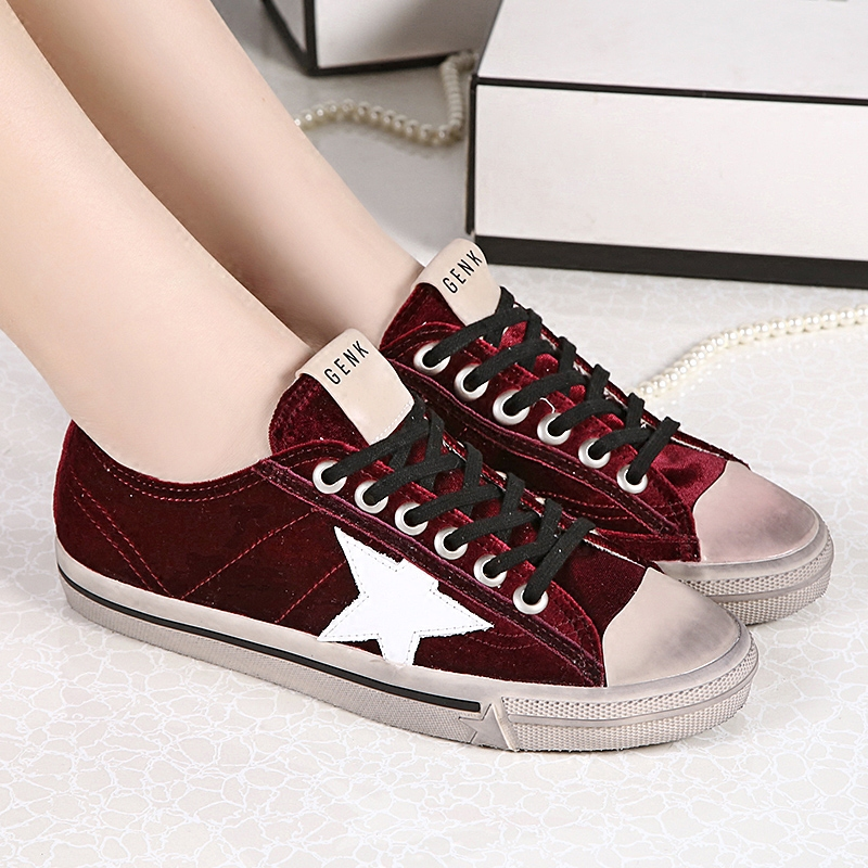 BBK 2017 new arrive fashion child shoes comfortable kids casual shoe red color boys girls flats have adult size 34-46 B*