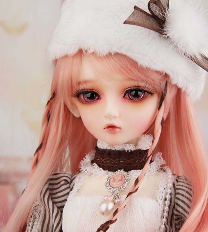 Free Shipping 1/4 BJD doll BJD / SD Fashion luts Kid Delf salgoo Doll For Baby Girl Gift