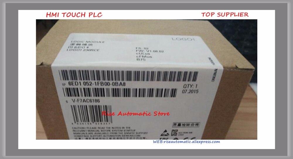 все цены на New Original LOGO! Logic Module 6ED1052-1FB00-0BA8 8 DI/4 DO Relay 6ED10521FB000BA8 6ED1052 1FB00 0BA8 PLC with box
