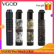Оригинальный VGOD Pro Mech 2 комплект с 2 мл VGOD Elite Rda pro mech 2 мод Модернизированный VGOD pro mech mod как vgod elite mod Ehpro Cold Stee