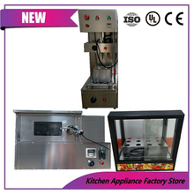 pizza cone maker machine pizza cone oven with display case