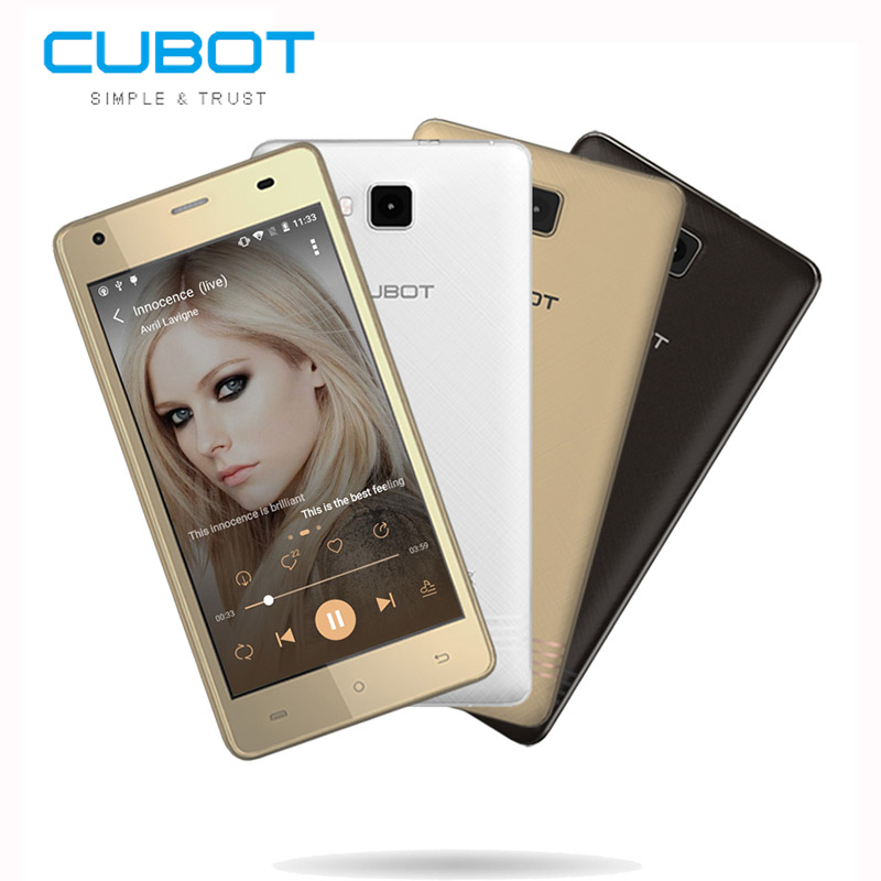 Cubot Echo Mobile phone 5 0 Inch MTK6580 1 3GHz Quad Core Cell phones16GB ROM 2GB