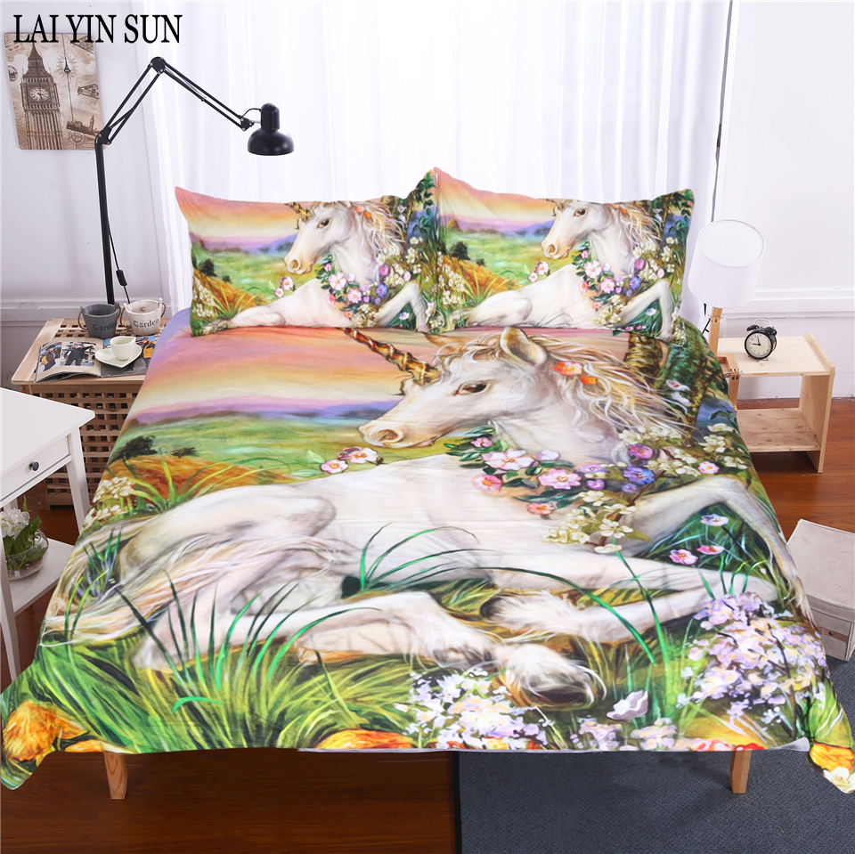 Lai Yin Sun Nightmare Before Christmas Bedding Set Bedclothes Unique ...