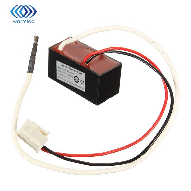 Purificador de aire doméstico generador de aniones oxigenación de iones negativos AC 240V HL-F38 38x18mm producto doméstico
