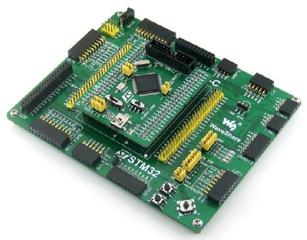 Livraison Gratuite! 1 pc STM32F207VCT6 ARM STM32 carte de développement carte de base + module PL2303
