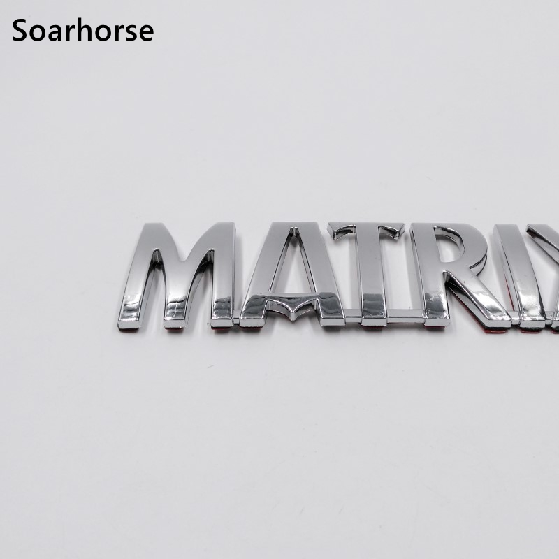 Car Styling For Hyundai Matrix 3D Letters Emblem Sticker