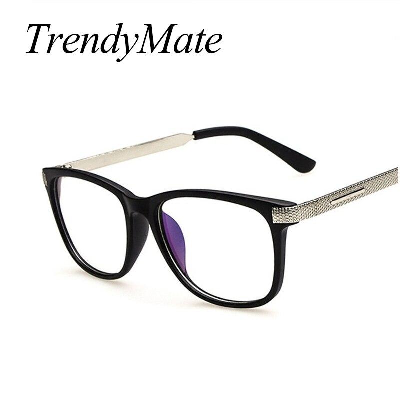 Retro Luxo Metal Leg Óculos de Leitura de Radiação resistente Anti-Fadiga Óculos de Computador óculos de Armação Oculos de grau M265