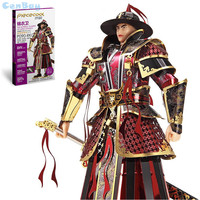 Piececool 2017 Newest 3D Metal Puzzles Of THE IMPERIAL GUARDS OF MING DYNASTY 3D Model Kits