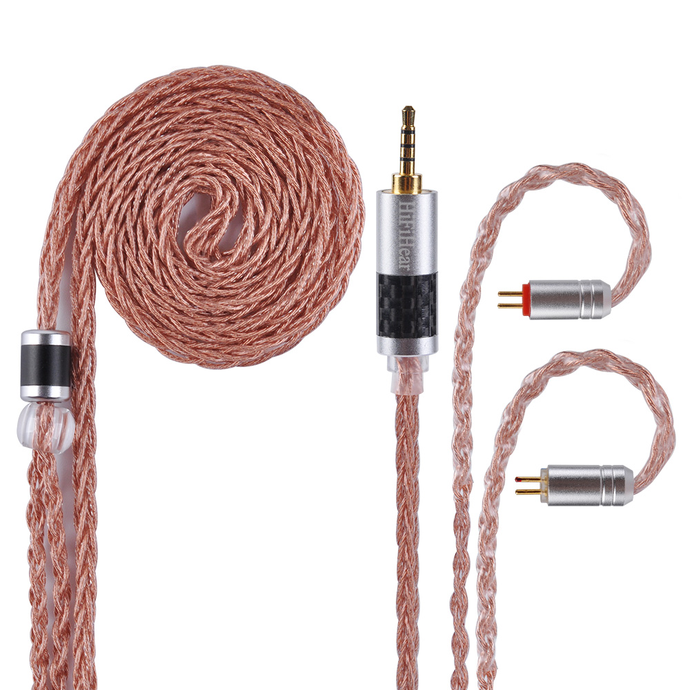 HiFiHear 8 Core Alloy With Pure Copper Cable 2 5 3 5 4 4mm Balanced Cable