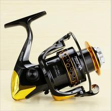 2016 Updated Quality 12+1BB 5.1:1 Metal Spinning Fishing Reel Carp Fishing Wheel Spinning Reel