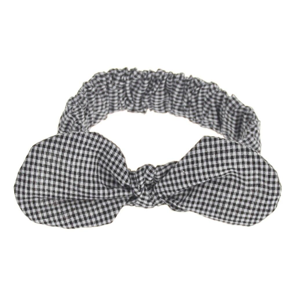 Xdomi 2018 Schne Mdchen Kaninchen Ohren Stirnband Knot Bowknot Topi Anak Baby Turban Bando Bayi Elastisches Hairband Headwear Fr Kinder Haarschmuck In