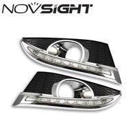 NOVSIGHT Auto Car Led Light Daytime Running Lights DRL Turn Signal Day Head Driving Fog Lamp for Chevrolet CAPTIVA 2011 2012 D25