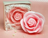 Wholesale wedding candles silicone mold silicone mold birthday candles rose mold