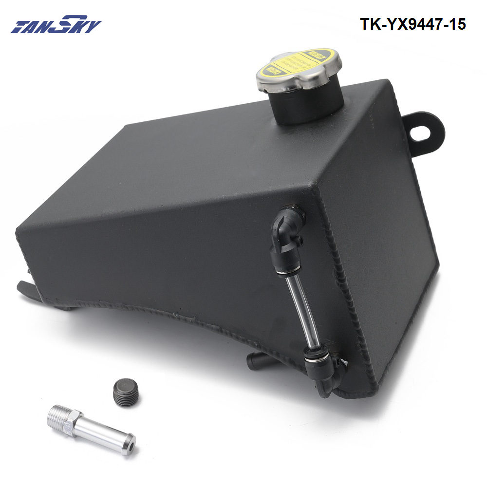 Radiator Overflow Tank Aluminium Anodized For WRX EVO S13 S14 S15 RB25 RB26 RB30