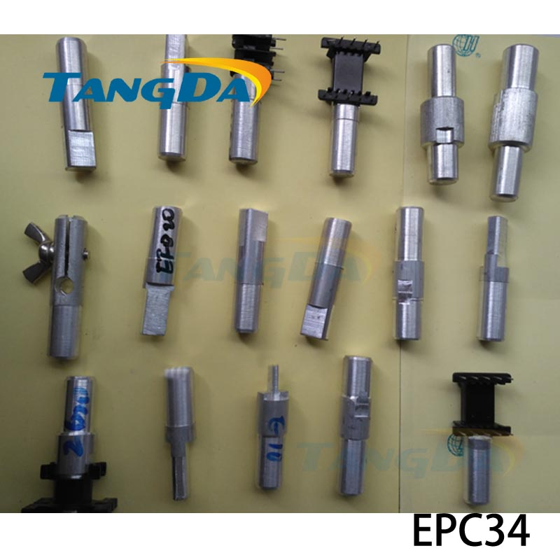 Tangda EPC34 Jig fixtures Interface:12mm for Transformer skeleton Connector clamp Hand machine Inductor Clips