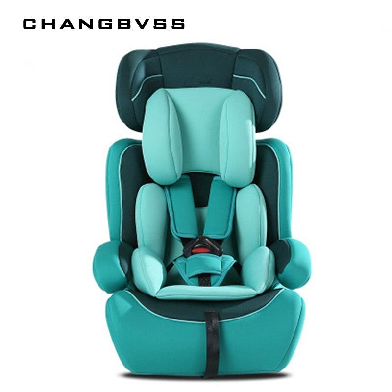 Enfant Protection sièges coussin pour voiture épaissir enfants chaises dans la voiture 9M ~ 12Y enfants enfants sécurité voiture sièges universel Chaise Enfant
