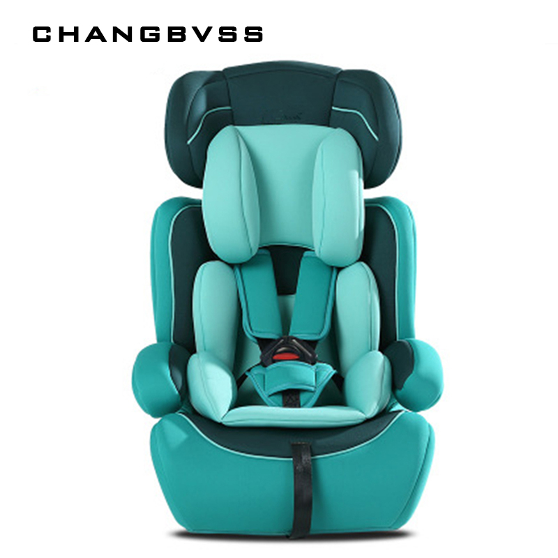 Kid Protection Seats Cushion For Car Thicken Child Chairs In Car 9M~12Y Kids Children Safety Car Seats Universal Chaise Enfant children red black adjustable cotton child car safety seats comfortable infant practical baby cushion for kids 9 months 12 years