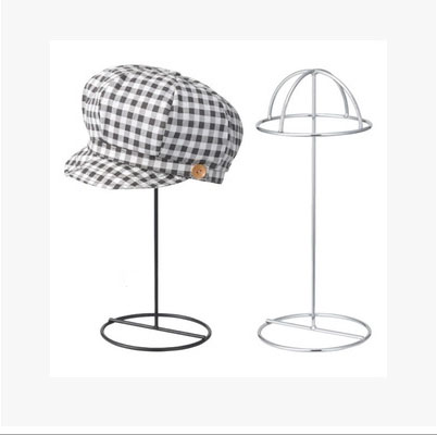 Hat Display Stand Metal Hat Cap Display Rack Holder hat storage rack hanger black metal hat display stand black hat display rack hat holder cap display