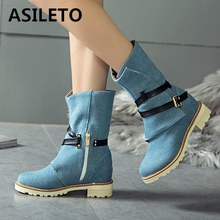 e743cae430 Blue Jeans High Heels Promotion-Shop for Promotional Blue Jeans High ...