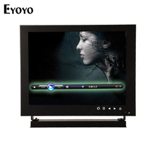 Eyoyo 8″ 1024*768 HD Camera Monitor HDMl VGA BNC For Lab Home Safety CCTV DVD PC TFT LCD Monitor with Remote Control