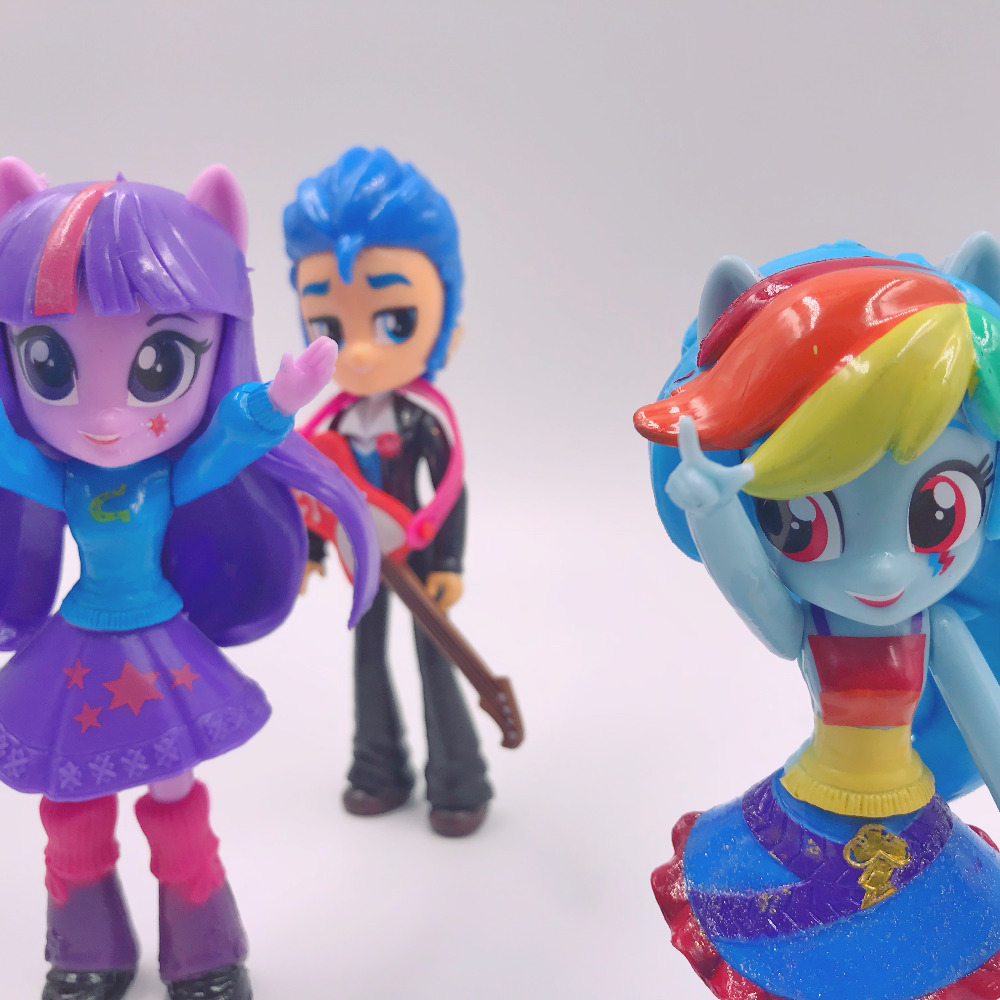 My Little Cute Pony Girl Figurines 13cm 26