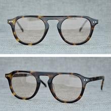 2019 Fashion Vintage Round Sunglasses Men Women Acetate Retro Sun Glasses for Brand Designer Flat Top Sunglass Male Oculos