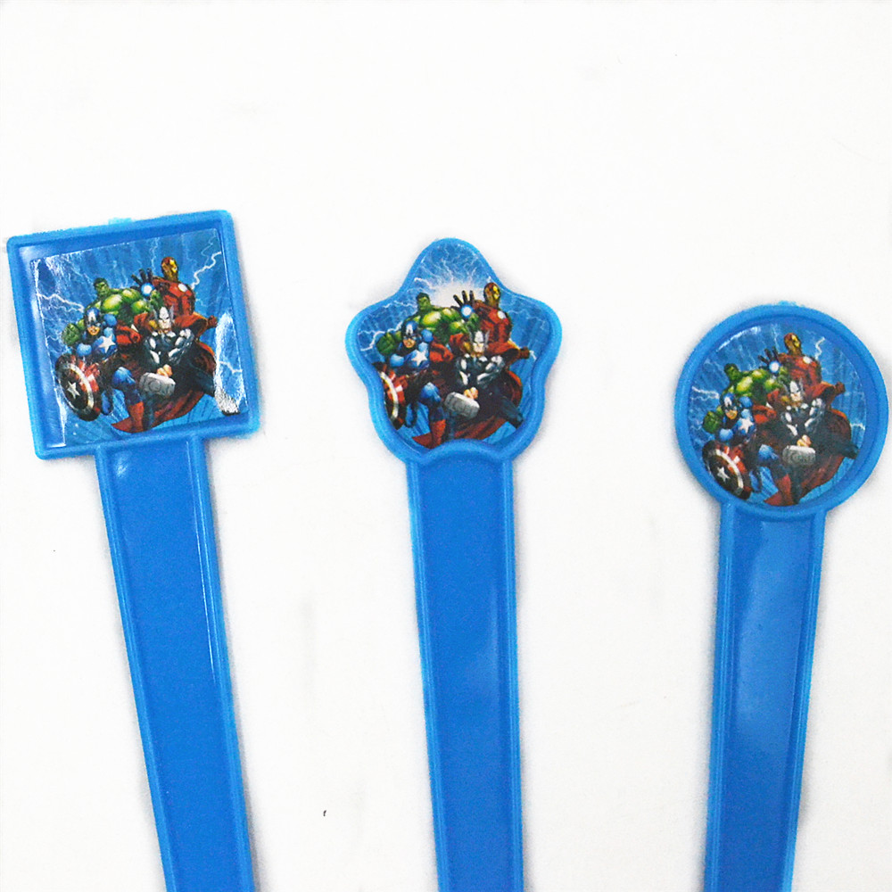 10pcs/bag Marvel\'s The Avengers Plastic Fork Birthday/Festival Kids ...