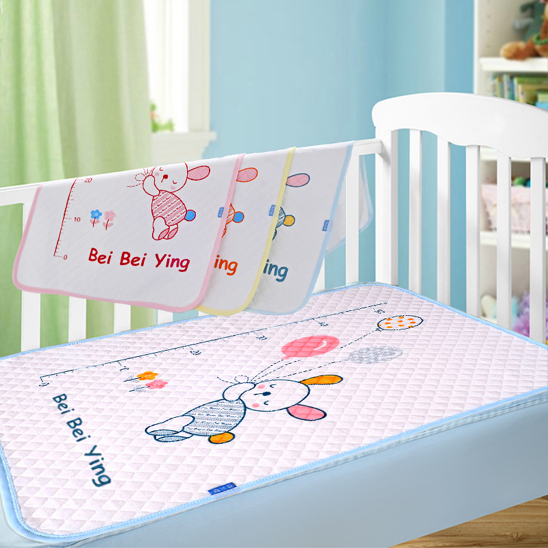 3 Sizes Cartoon Changing Pad Floor mats Cushion Reusable Diaper Baby Changing mat Infants Portable Waterproof Mattress