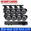 AHD 8CH CCTV System 1080P HDMI DVR 960P 2500TVL Outdoor Weatherproof CCTV Camera set Home Security System Surveillance Kit