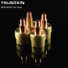 5PCS Welding Machine Accessories Small Gas Lens Body 45V44  For WP9 WP22 TIG Torch