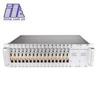 16 Каналы 3U стойки MPEG 4/H.264 AVC HDMI + AV/CVBS потокового видео кодер Поддержка 1080p @ 60fps