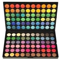 120 لون الأزياء ظلال مستحضرات التجميل المعدنية المكياج ماكياج ظلال العيون لوحة ظلال مجموعة 4 نمط اللون # m120 #