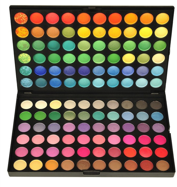 120 Color Fashion Eye shadow palette Cosmetics Mineral Make Up Makeup Eye Shadow Palette eyeshadow set 4 Style Color #M120#