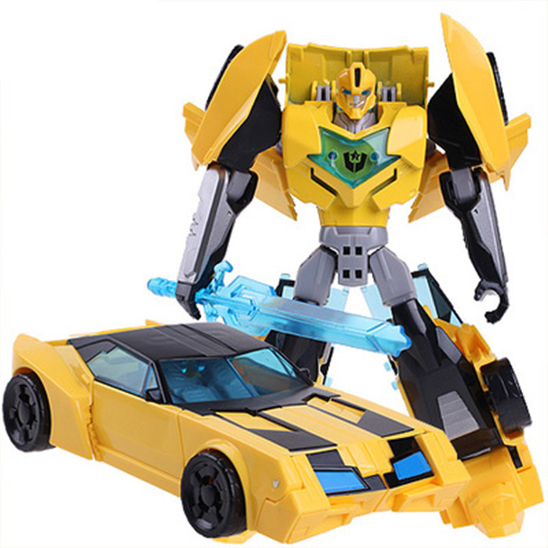 Cool Anime Transformation Toys Action Figures Movie 4 Robot Cars Brand Good Toy Model Brinquedos Kids Boys Toys Gifts Juguetes with package 6 pcs set transformation robot cars and bruticus toys action figures block toys for kids birthday gifts